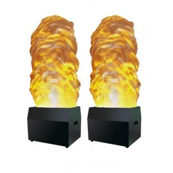Pair of 1.7m Flame Effects