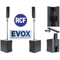 RCF Evox 8 Compact PA System