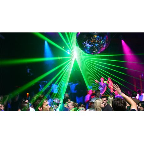 UV & Laser Party Package Builder