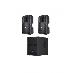 RCF 1600W Active Speaker System
