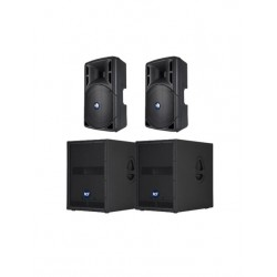 RCF 2400w Active Speaker System