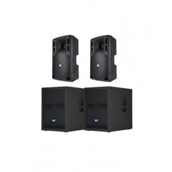 RCF 2400w Active Speaker System