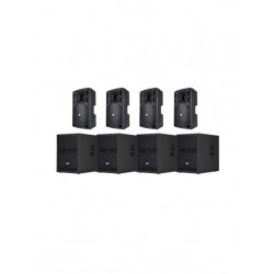 RCF 4800w Active Speaker System