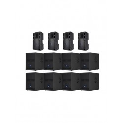 RCF 8000w Active Speaker System