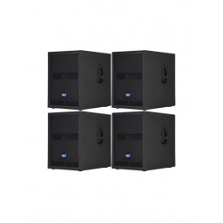 RCF 3200w Active Subwoofer System