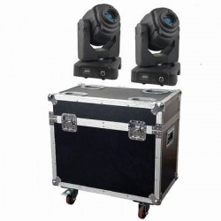 60w LED Moving Heads (Pair)